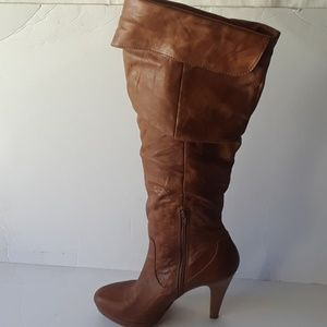 "Jessica Simpson""Anne"" Brown  high boots"
